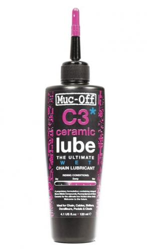 Muc-Off Wet Lube - C3 Ceramic 120 ml