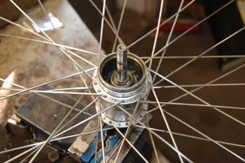 laga fotbroms cykel