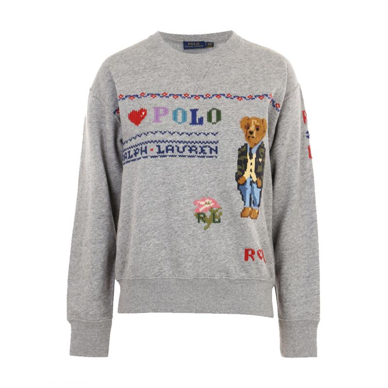Bear Long Sleeve Sweater