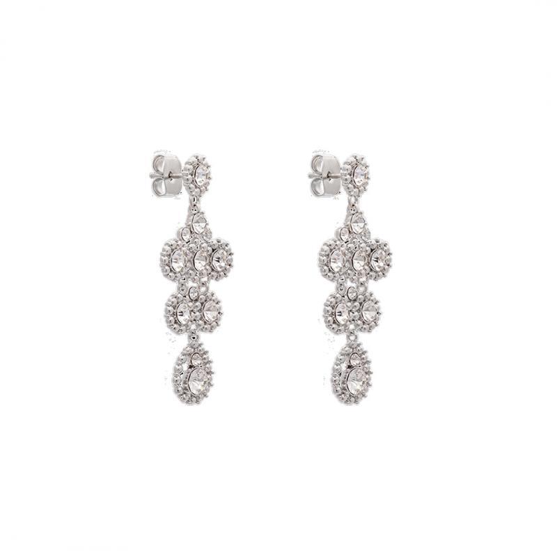 Petite Kate Earrings - Crystal