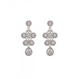 Petite Kate Earrings - Crystal