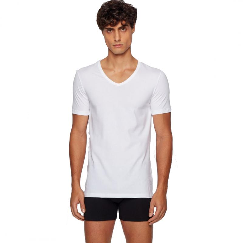 2P T-Shirt V-Neck Slim Fit