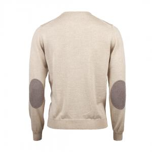 Crew Neck With Patches