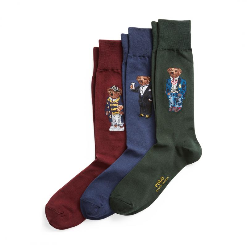 Polo Bear Socks Gift Box