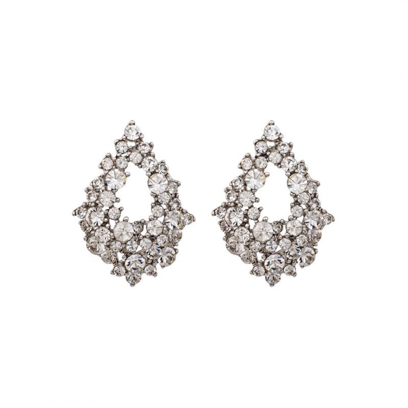 Alice Earrings - Crystal