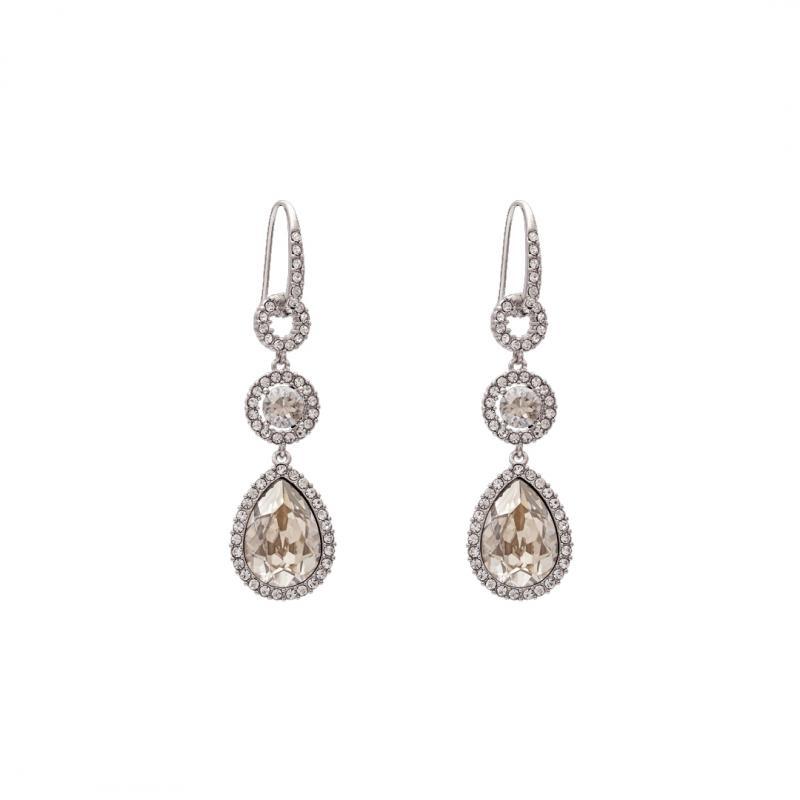 Amy Earrings - Crystal