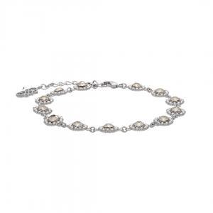 Petite Kate Bracelet - Crystal