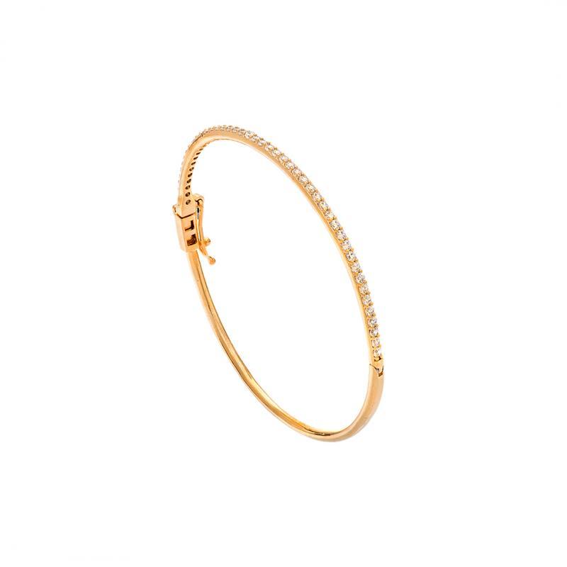 Kennedy Bracelet - Crystal Gold