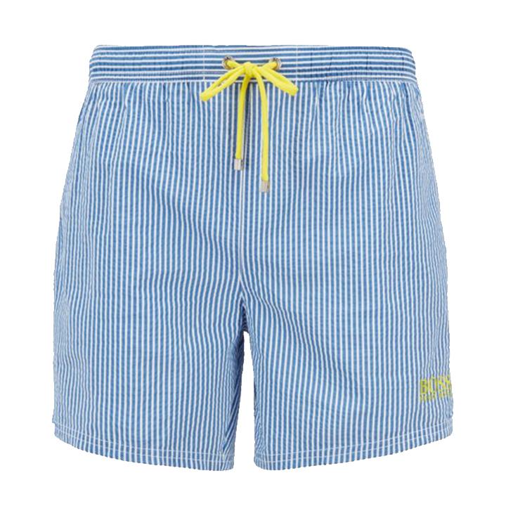 Velvetfish Striped Swim Shorts