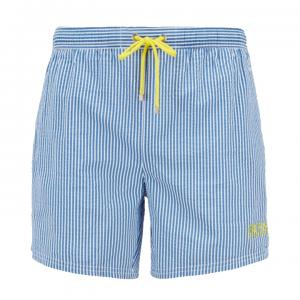 Velvetfish Striped Swim Shorts