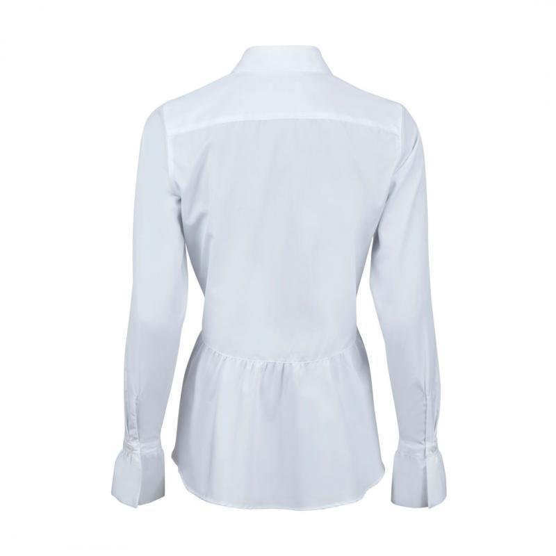 Poplin Shirt With Frill