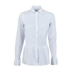 Poplin Shirt With Frill