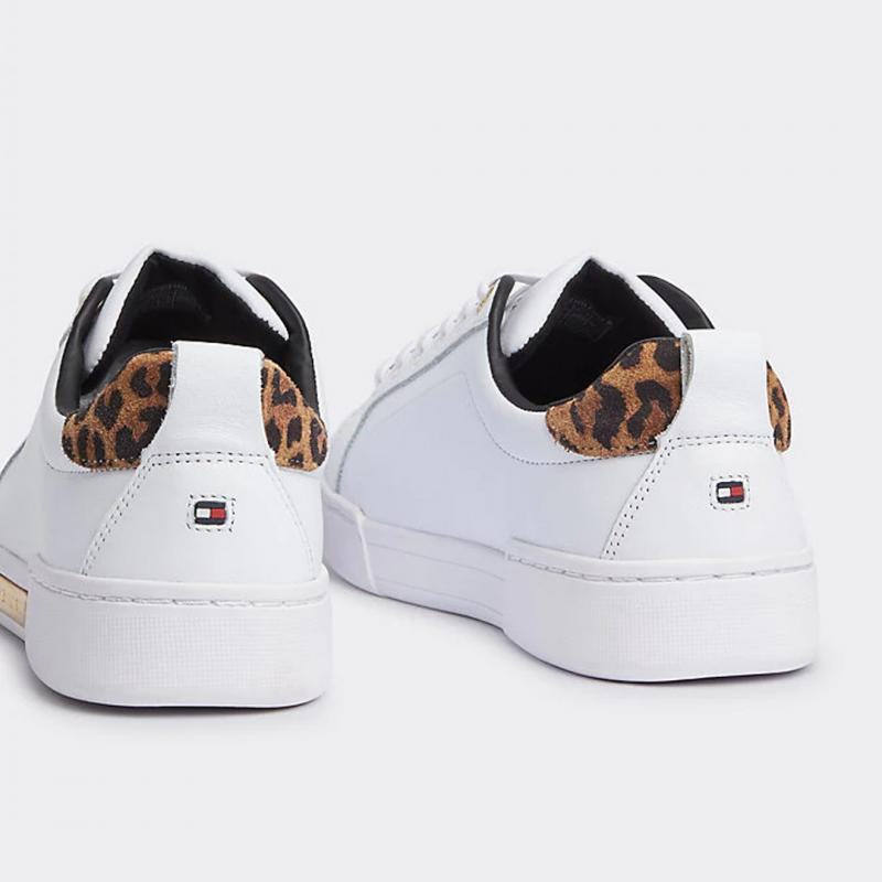 Branded Leo Print Shoes