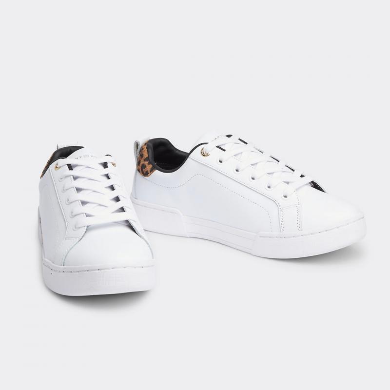 Branded Leo Print Shoes