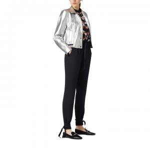 Satapy Regular Fit Crepe Trousers