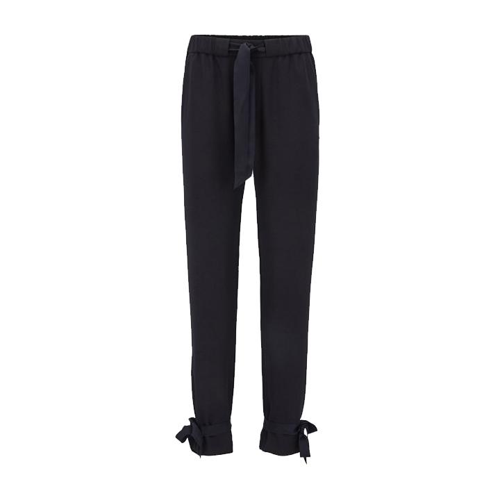 Satapy Regular Fit Crepe Trousers
