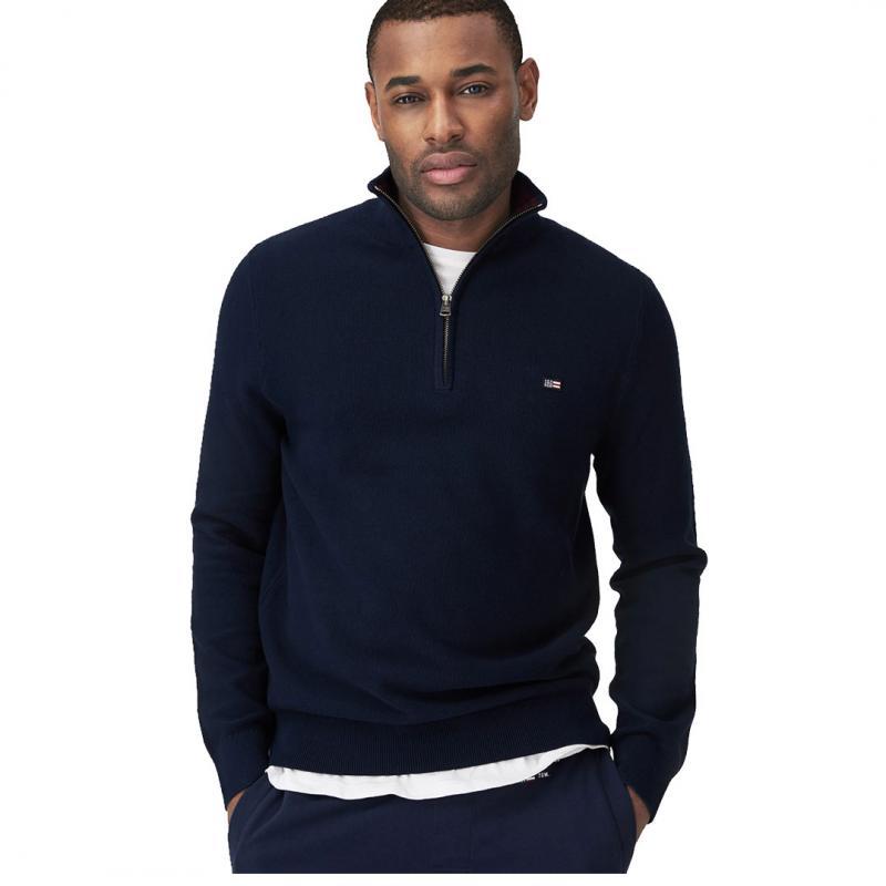 Clay Half Zip Sweater