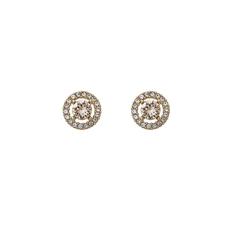 Miss Miranda Earrings - Light Silk Gold