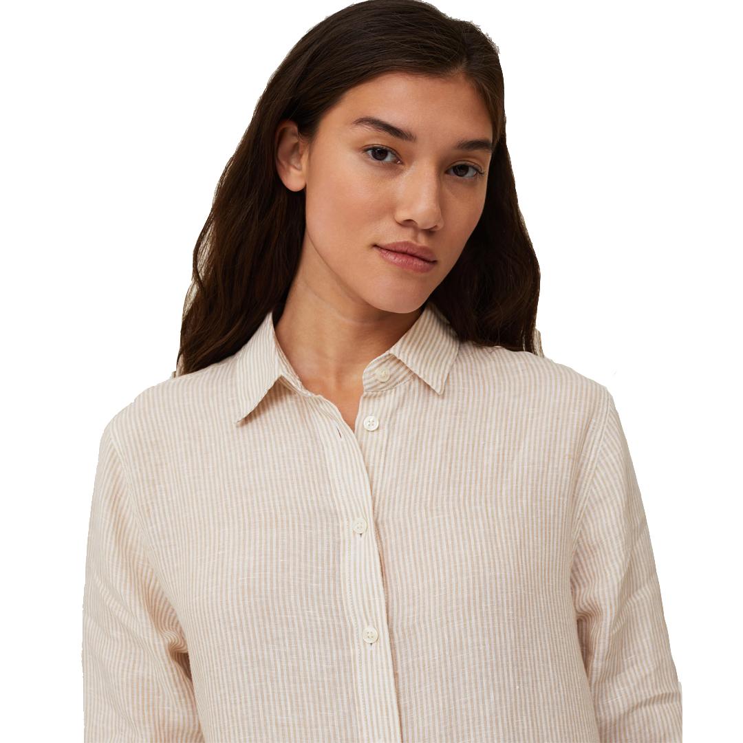 Isa Linen Shirt Dress