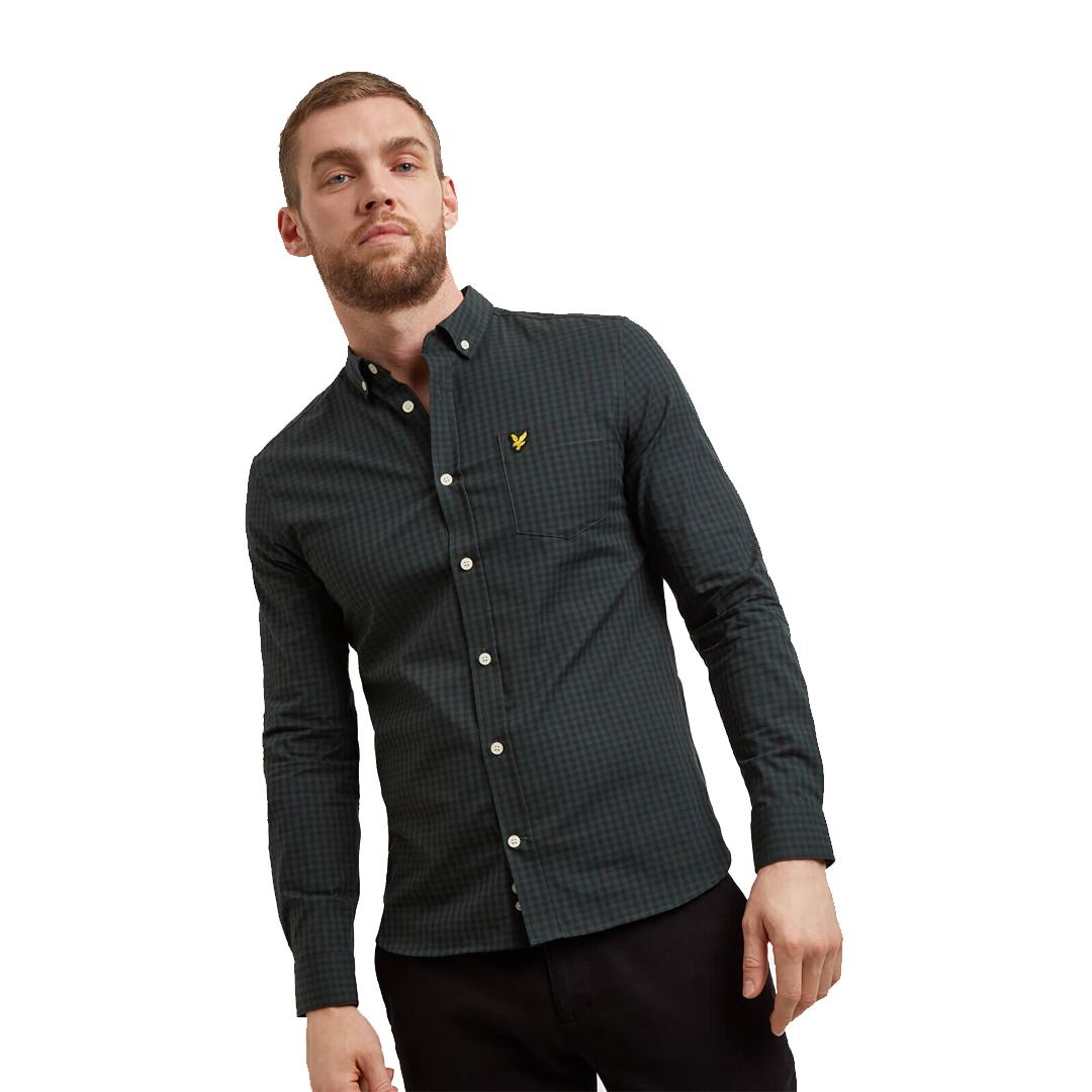 Slim Fit Gingham Shirt