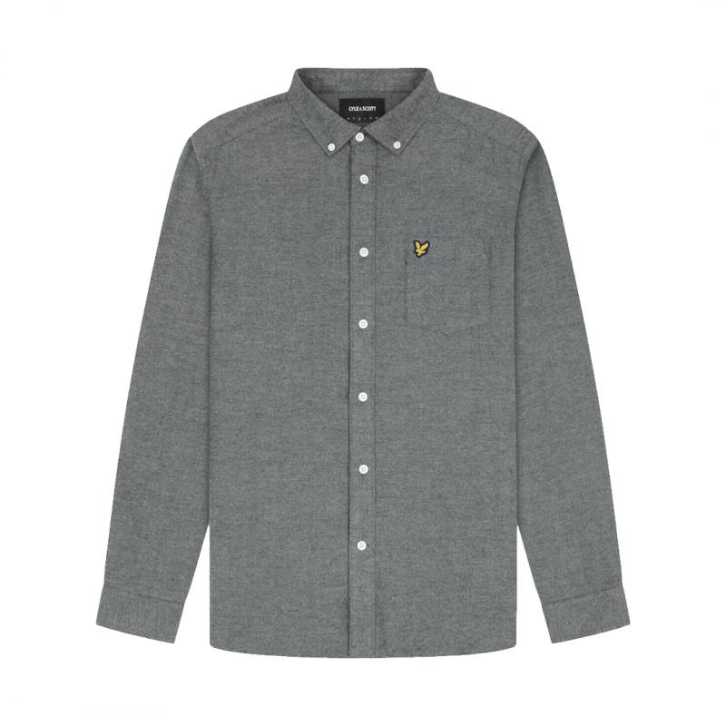 Brushed Herringbone Shirt