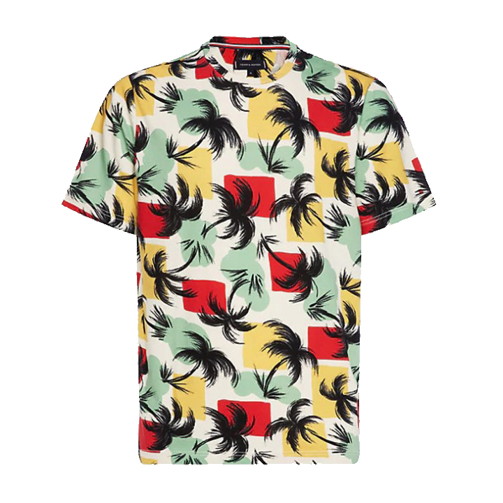 Palm All Over Relaxed Tee
