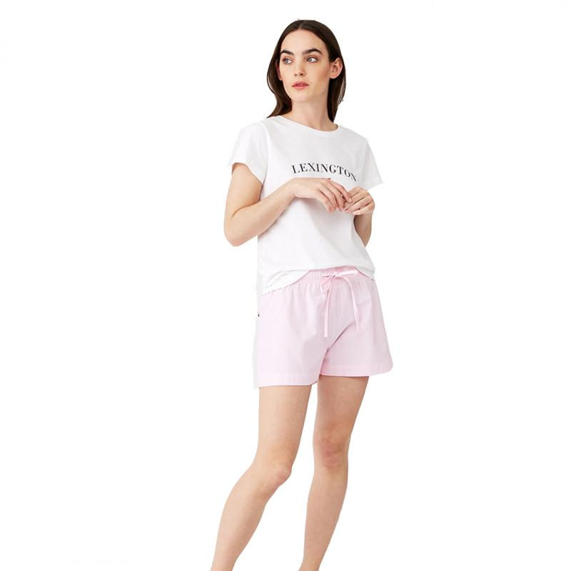 Womens Nightset Organic Pink/White