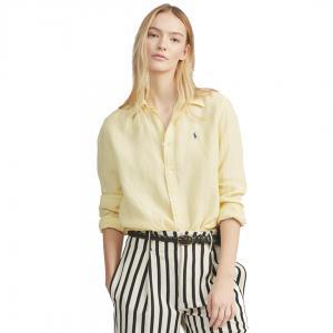 Relaxed Linen Long Sleeve Shirt