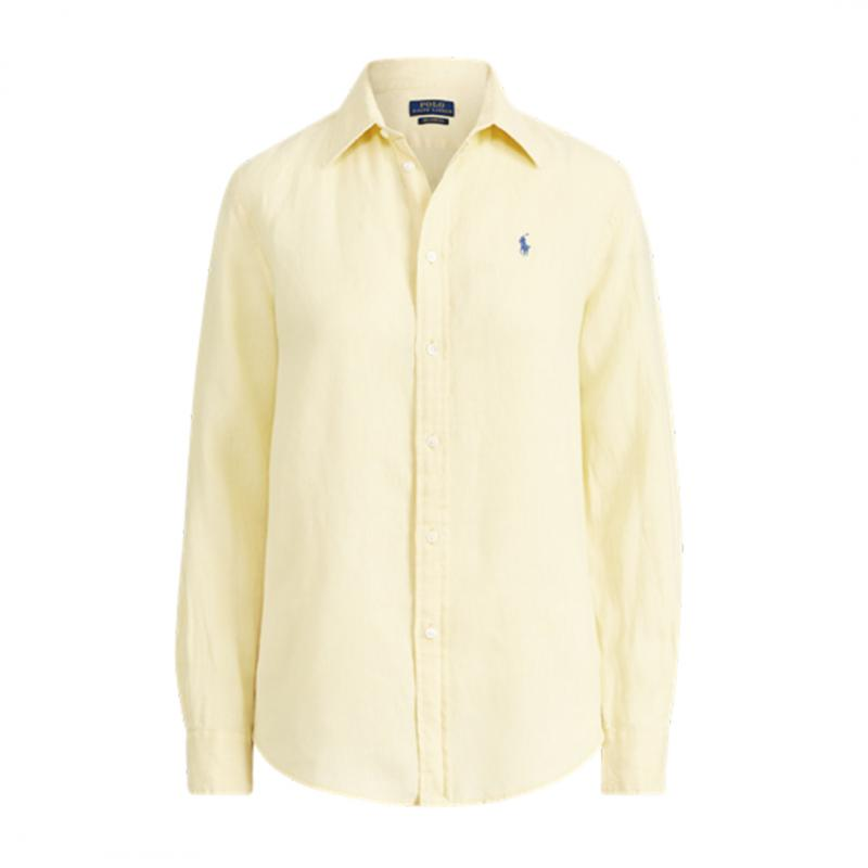 Relaxed Linen Long Sleeve Shirt