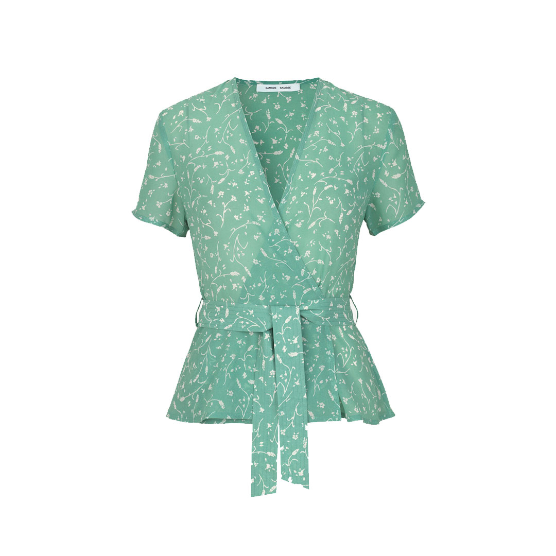 Klea ss blouse aop