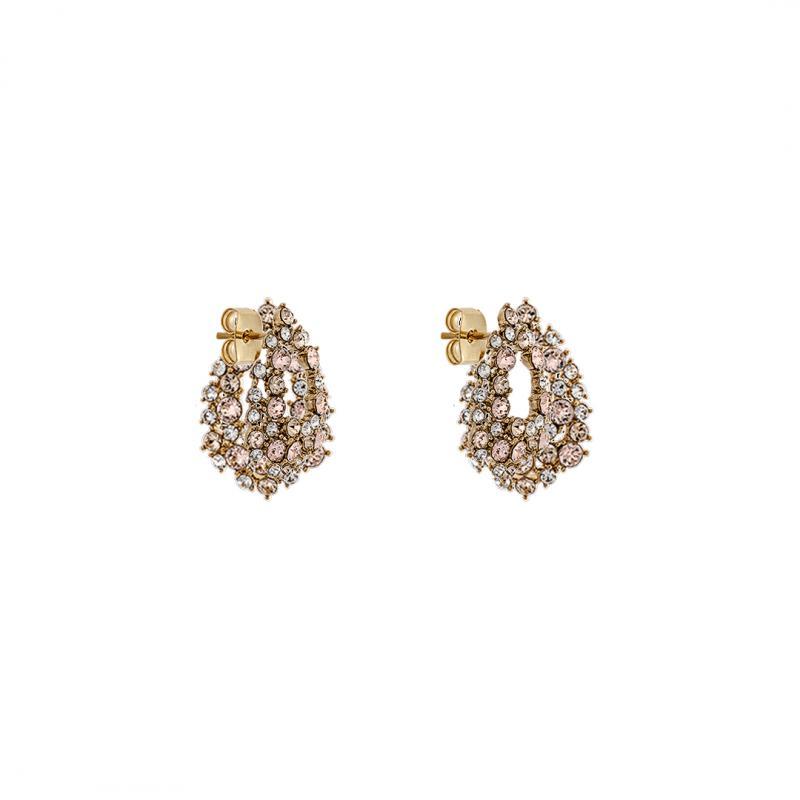Petite Alice Earrings - Silk Gold