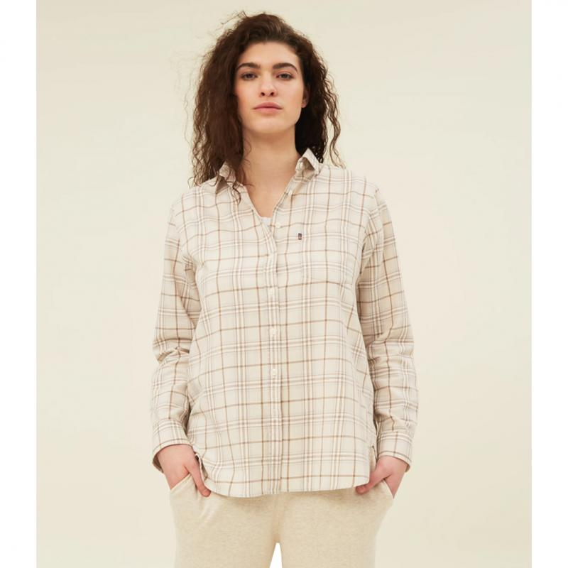 Isa Flannel Organic Cotton Shirt