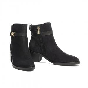 TH Hardware Suede Boots