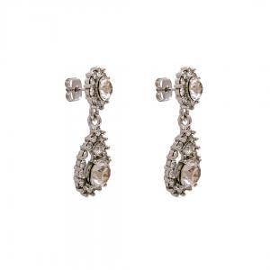 Sofia Earrings - Crystal