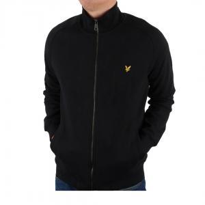 Funnel neck zip sweatshirt