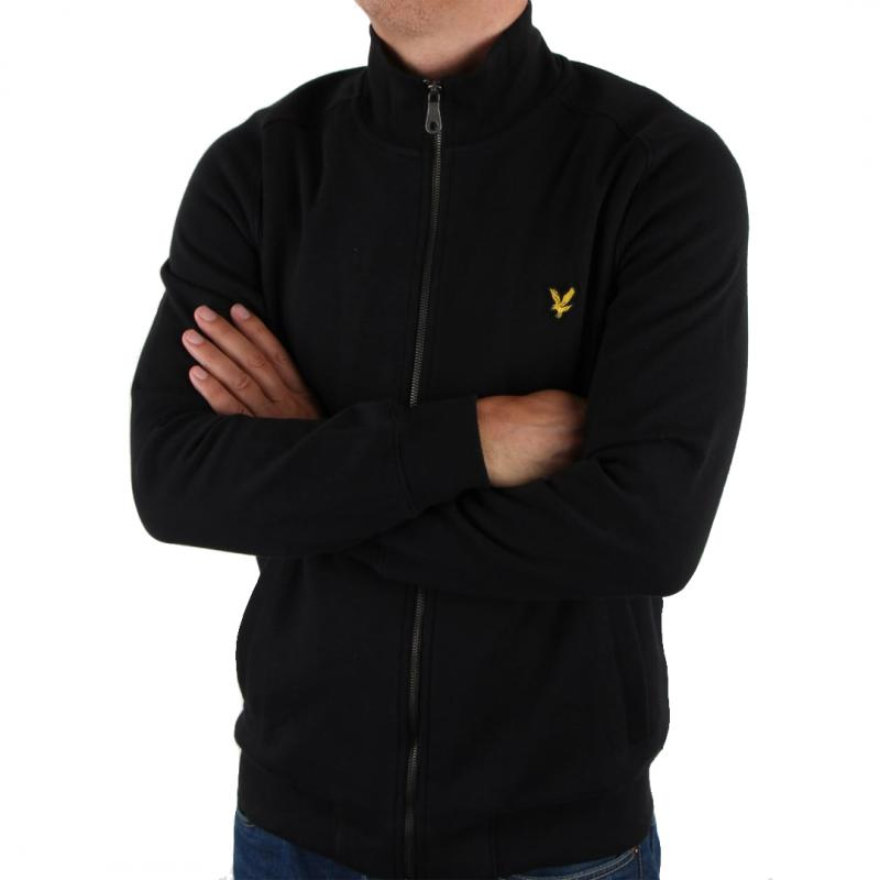 Funnel neck zip sweatshirt