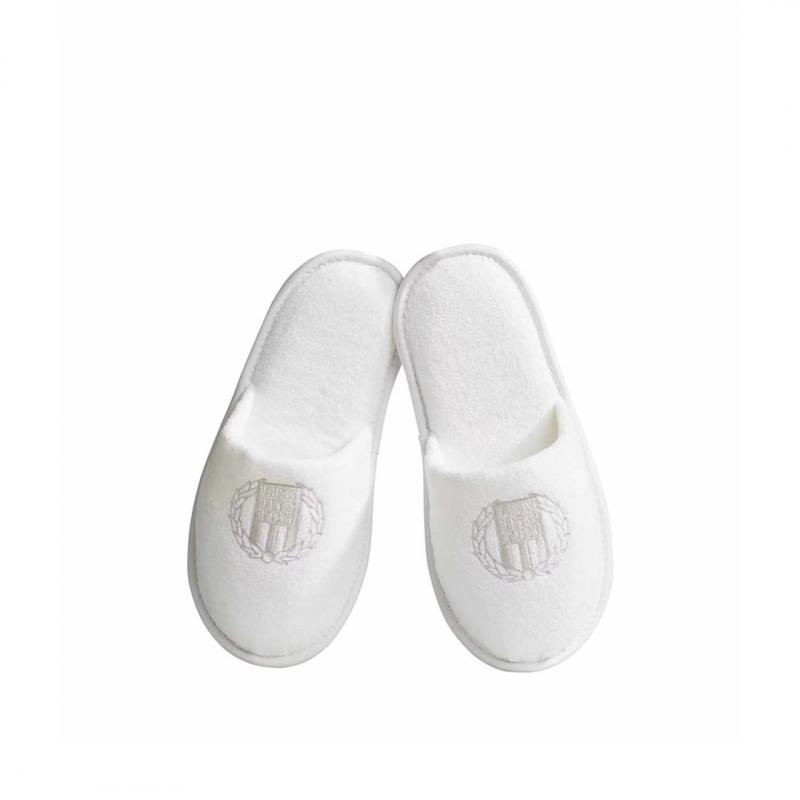 Lexington Hotel Velour Slipper