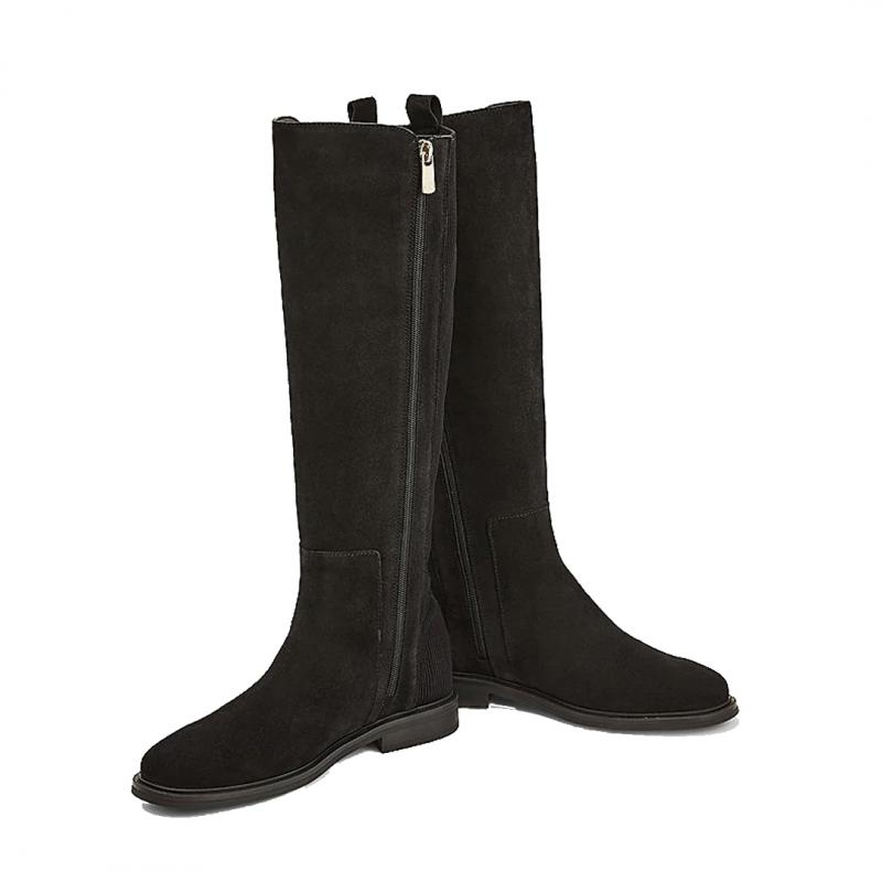 Essential Flat Long Boots