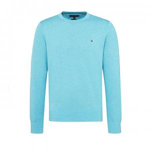 Cotton Silk Crew Neck Jumper