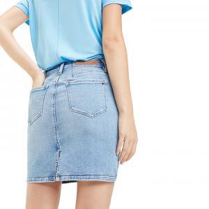 Slim Fit Denim Rome Skirt