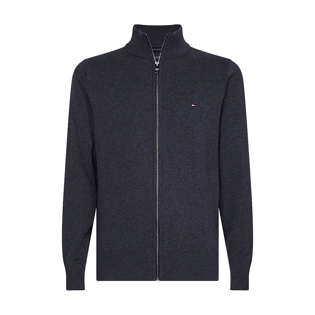 Pima Cotton Cashmere Zip