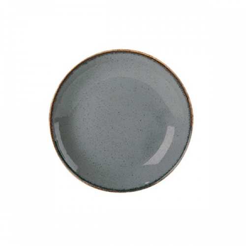 GRAY COUPE PLATE 18CM/7''