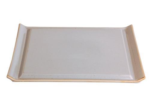 Uppläggningsfat 32 x 26,5 cm ljusgrå