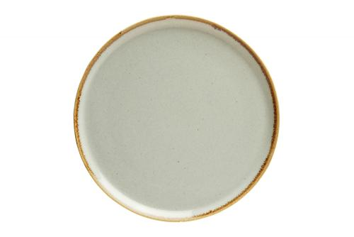 Grey Pizza Plate 20Cm