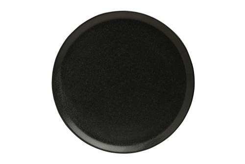 Black Pizza Plate 28 Cm