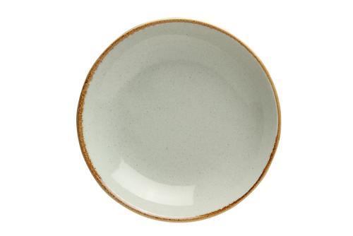 Grey Deep Plate 21Cm