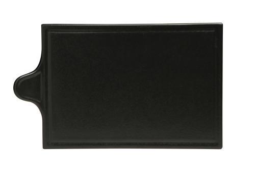 Uppläggningsfat 29,5 x 17 cm svart
