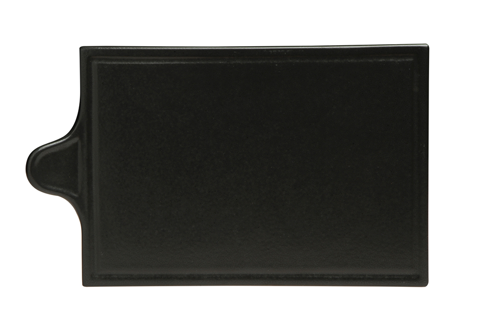 Black Cheese Platter 34 Cm