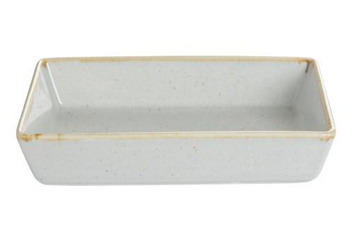 Grey Handled Square Plate 16Cm