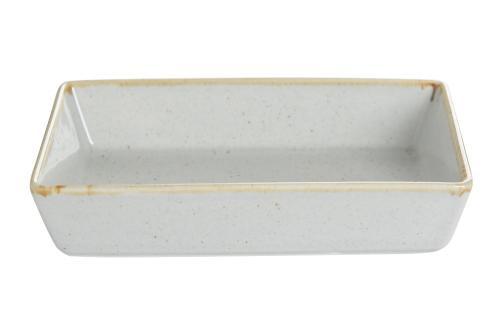 Grey Rectangular Salad Plate  13C